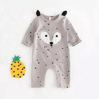 Trendy Fox Design Jumpsuit for Baby