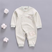 Trendy House Appliqued Long-sleeve Jumpsuit for Baby Girl
