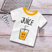 Stylish Juice Splice Short-sleeve Tee for 1.5-9 Years Boy and Girl
