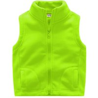 Comfy Solid Fleece Vest for Baby and Kid