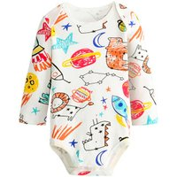 Adorable Painting Long-sleeve Bodysuit for Baby