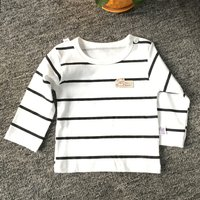 Baby / Toddler Simple Striped Cotton Tee