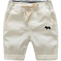 Stylish Dog Embroidery Drawstring Design Shorts for Baby Boy and Boy
