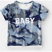 Cool Camouflage Print Short-sleeve T-shirt for Baby Boy and Boy