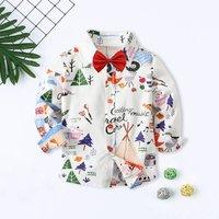 Baby/Toddler Boy's Cartoon Pattern Shirt