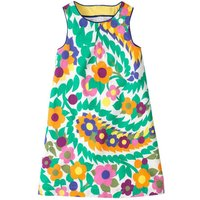 Bright Floral Sleeveless Dress for Toddler Girl and Girl