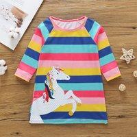 Baby/ Toddler Girl's Horse Pattern Dress