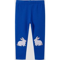 Lovely Easter Rabbit Applique Leggings
