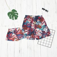 Daddy and Me Floral Matching Beach Shorts