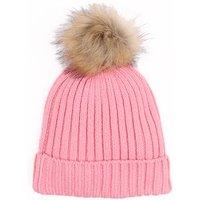Comfy Pompon Design Knitted Hat for Baby