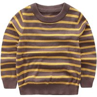 Trendy Striped Long-sleeve Sweater for Boy