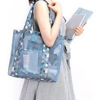 Unique Patterned See-through Storage Bag Shoulder Bag