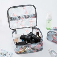 Chic Flamingo Design Cosmetic Storage Bag