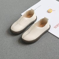Handsome Solid Slip-on Shoes for Toddler Boy and Boy