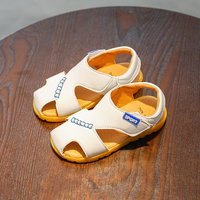 Stylish Solid Velcro Sandals for Toddler Boy and Boy