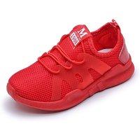 Fashionable Letter Print Mesh Sneakers for Toddler Boy and Boy
