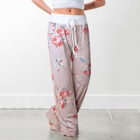 Stylish Floral Print Yoga Pants