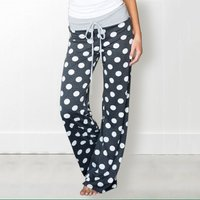 Polka Dots Loose Yoga Pants