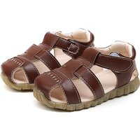 Toddler Boy's Cool Leather Sandals