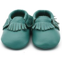 Cute Solid Tasseled Leather Shoes for Baby and Toddler