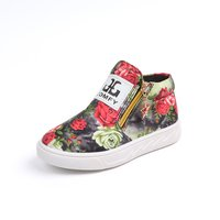 Chic Breathable Floral Boots for Boys and Girls