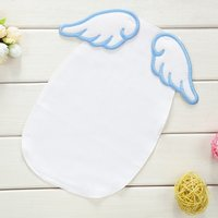 Angel Wings Applique Absorbent Baby Burp