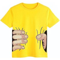 Cool Hand Print Short-sleeve T-shirt for Toddler Boys