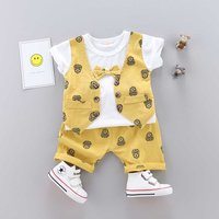Baby/ Toddler Boy's Cartoon Patterned Top and Shorts