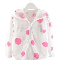 Trendy Polka Dot Long-sleeve Hoodie for Baby Girl and Girl