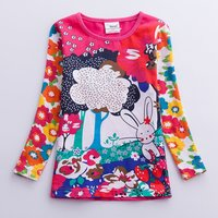 Baby and Toddler Forest and Rabbit Tee