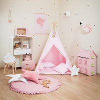 Trendy Solid Round Floor Mat Play Mat for Baby