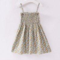 Chic Floral Slip Dress for Toddler Girl and Girl