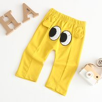 Funny Eyes Design 3D Ear Solid Pants for Baby