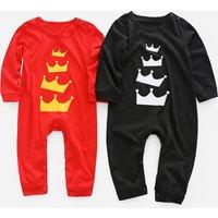 Crown Printed Jumpsuit