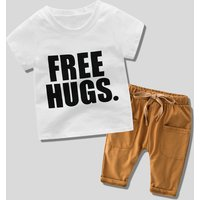 Free Hugs Tee and Pants Set