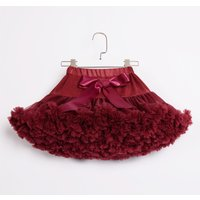 Chic Tutu Skirt in Crimson for Baby Girl and Girl