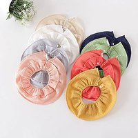 2-pack Stylish Solid  Bibs Set for Baby