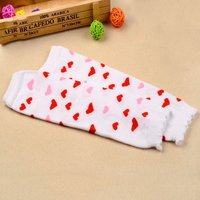 1-pair Heart Pattern Leg Warmers for Baby Girl