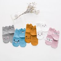 5-pack Baby/ Toddler Girl's Cartoon Socks