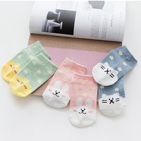 Cute 3-piece Socks for Toddler and Kid