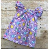 Easter's Baby/ Toddler Girl's Rabbit Easter Egg Dress