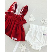 Baby / Toddler Girl's Ruffled Top and PP Shorts