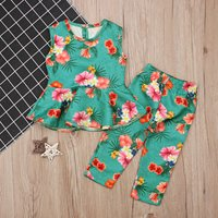 Baby / Toddler Girl's Floral Print Top and  Pants