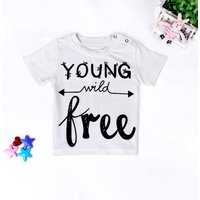 Baby/ Toddler's Letter Print Tee