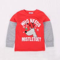 Toddler Boy's Who Needs Christmas Reindeer Print Top