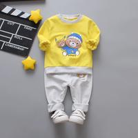 Baby / Toddler Cartoon Bear Sweatshirt and Pants Set