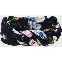 Pretty Floral Allover Knot Design Headband