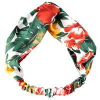 Trendy Leaf and Floral Allover Headband
