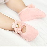 Baby/ Toddler Girl's Flower Decor Socks