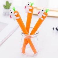 1 Pc Creative Carrot Design Gel Pen